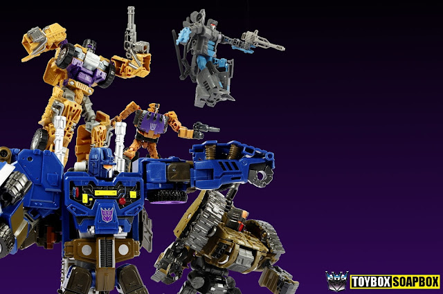 Unite Warriors Bruticus review