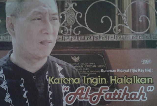 Kisah Seorang Non Muslim Yang Ingin Menghalfal Surat Al Fatihah, Sungguh Mengharukan.