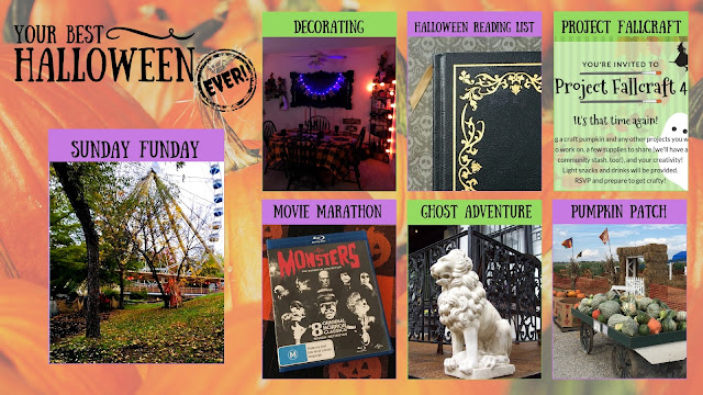 Your Best Halloween Ever, Sunday Funday Year One Recap