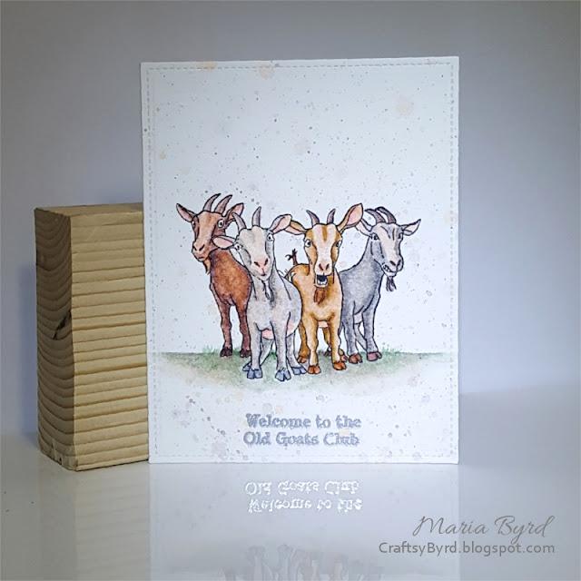 Art impressions old goat birthday card craftsybyrd art impressions old goat birthday card by maria byrd crafstybyrdspot bookmarktalkfo Image collections