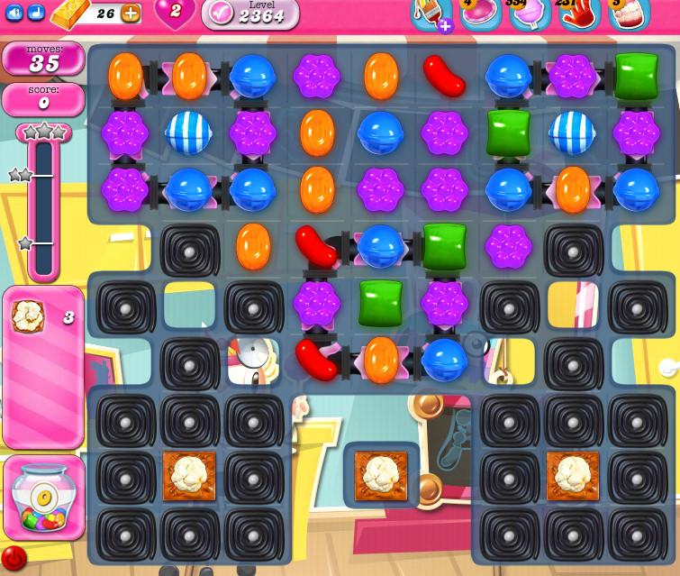 Candy Crush Saga level 2364
