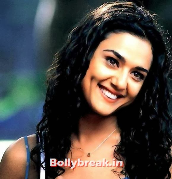 Preity Zinta in Dil Chahta Hai, Bollywood Actresses Lip Surgery Pics - Before & After