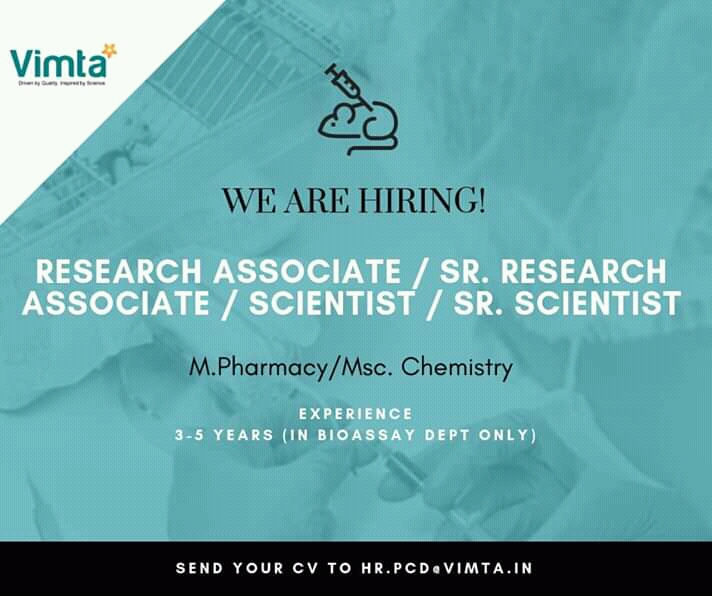 Nitin Chawla   Vimta Labs, Hyderabad   CRL - ResearchGate