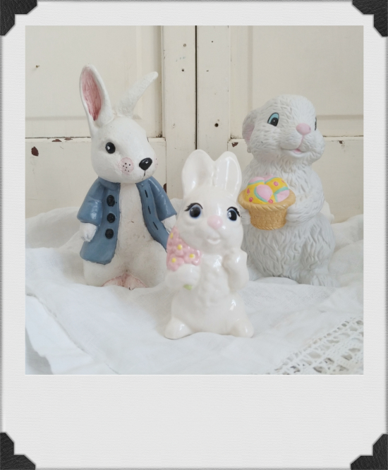 thrift store rabbits
