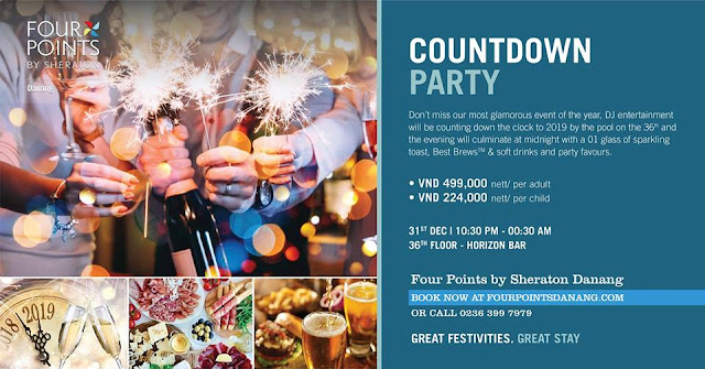 COUNTDOWN PARTY - FOUR POINTS BY SHERATON DANANG