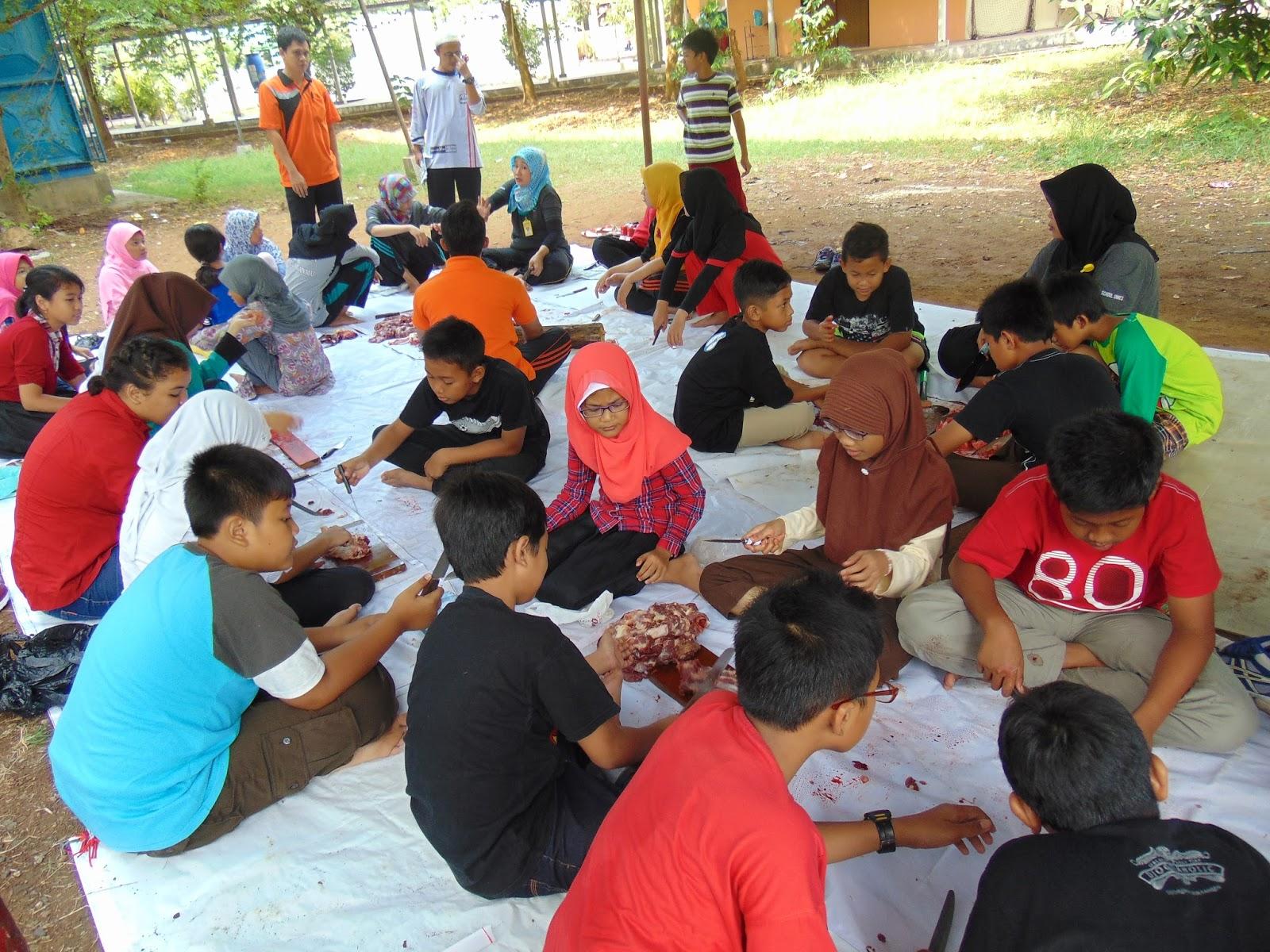 Latihan Qurban Di Labschool Unnes Semarang 1437 H Rifan Fajrin