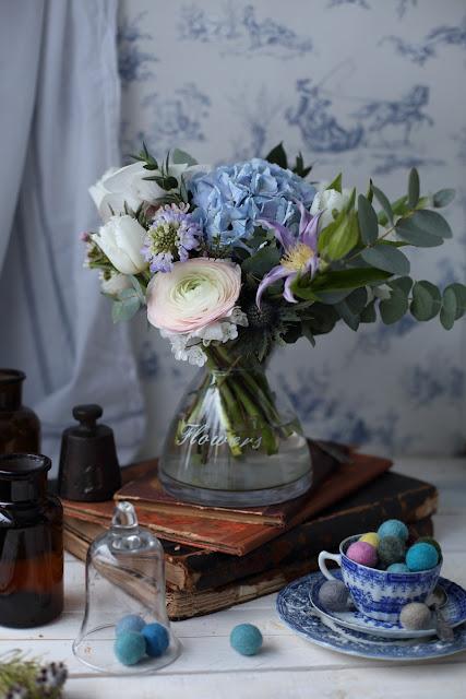 kukkakimppu, flowerbouquet