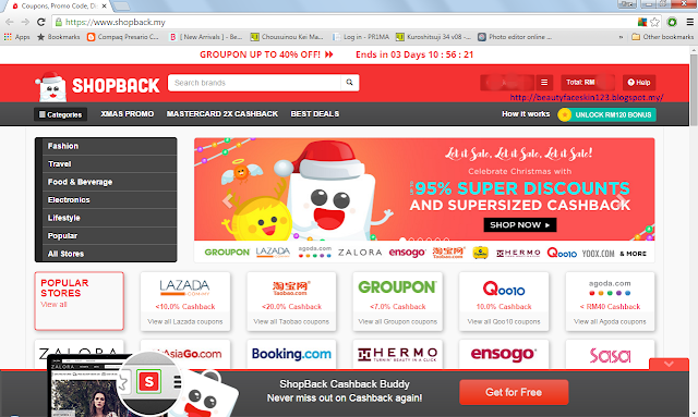 GET MUCH MORE SAVING FROM YOUR SHOPPING AT QOO10 WITH SHOPBACK