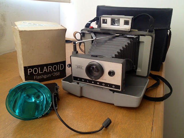 camara polarois 320 flashgun 268