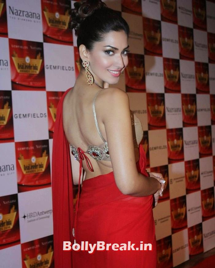 Jhataleka Malhotra, Pics of Celebs in Sexy Dresses & Gowns at Gemfields & Nazraana Retail Jeweller India Awards 2014