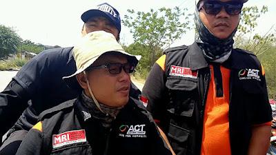 Tiga Relawan ACT-MRI Lampung Distribusikan Logistik di Palu