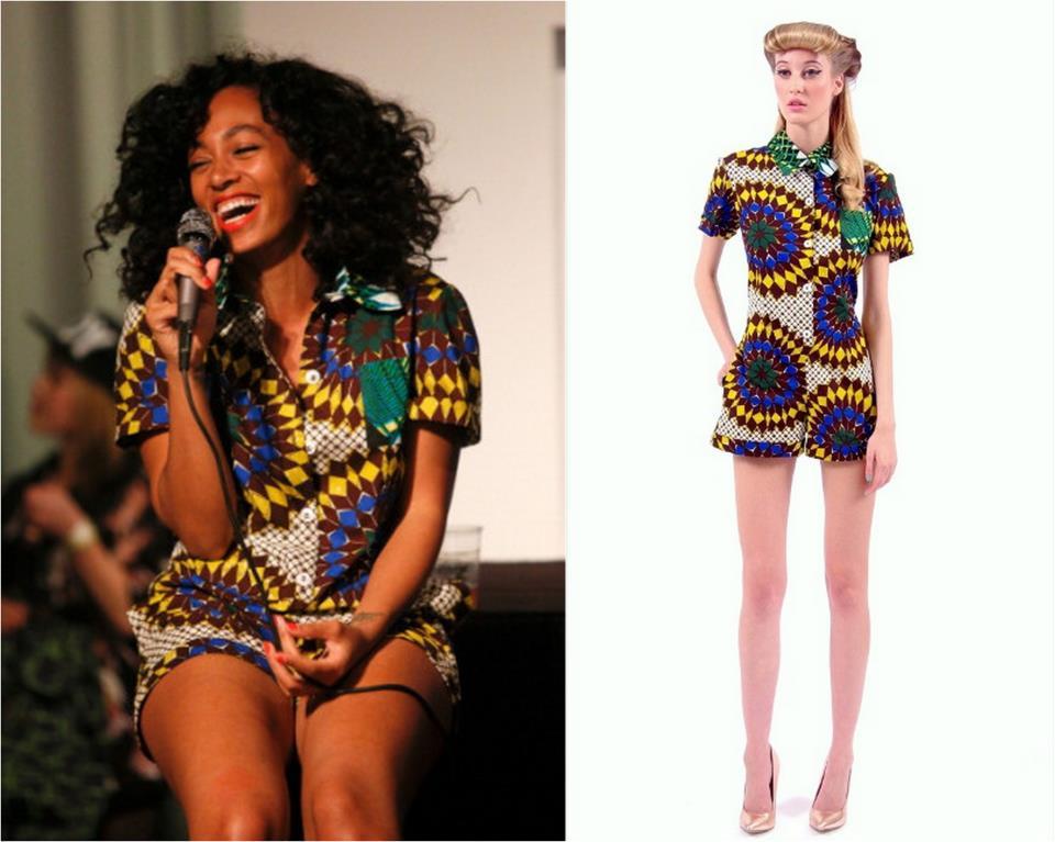 KaKKi: Celebrity African Print Styles