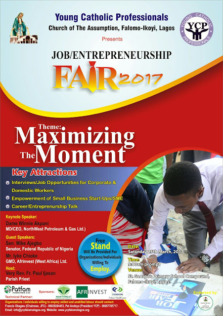 Announcing…YCP Annual Job/Entrepreneurship Fair 2.0