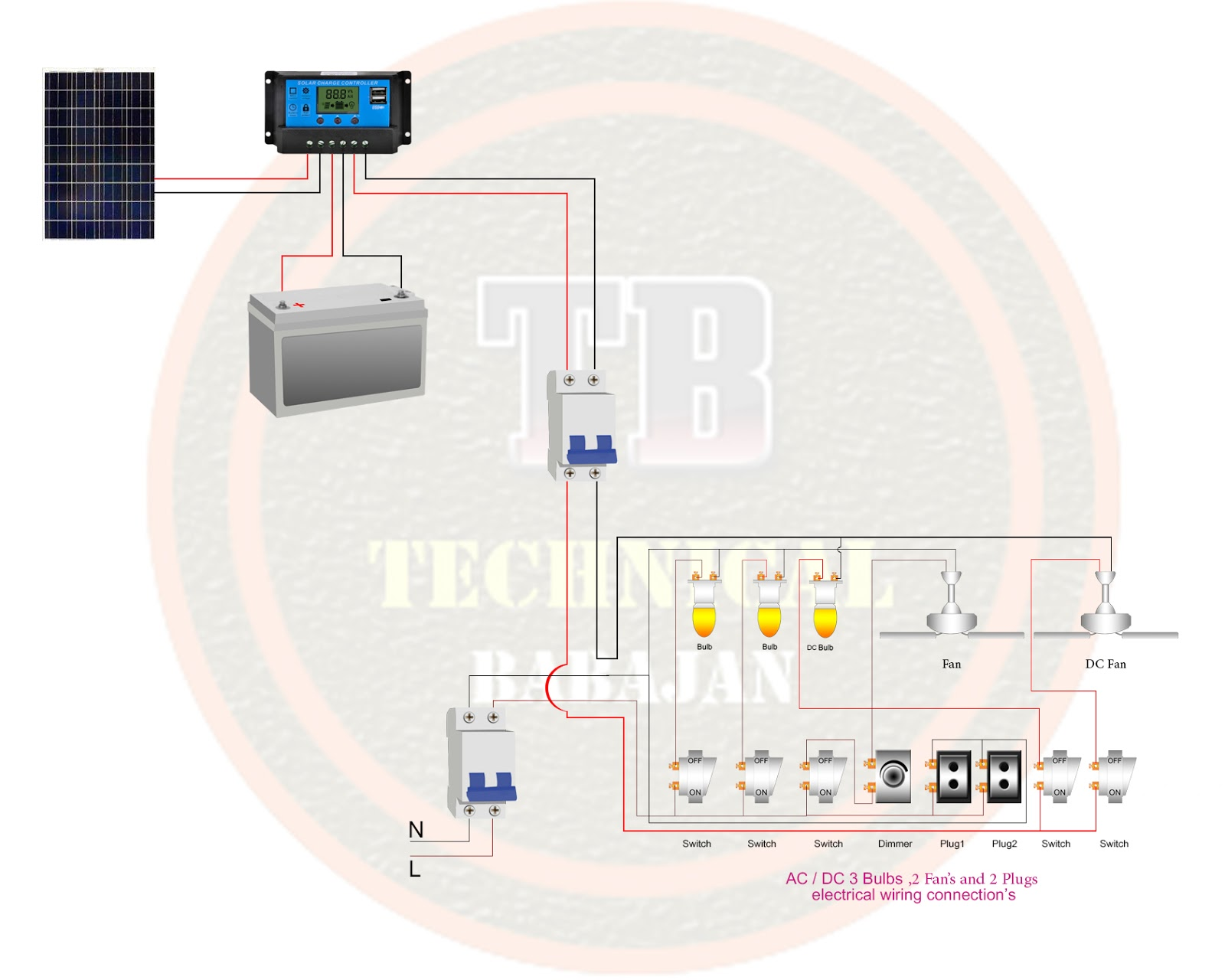 Technica BaBaJan: ac dc electrical wiring diagram on