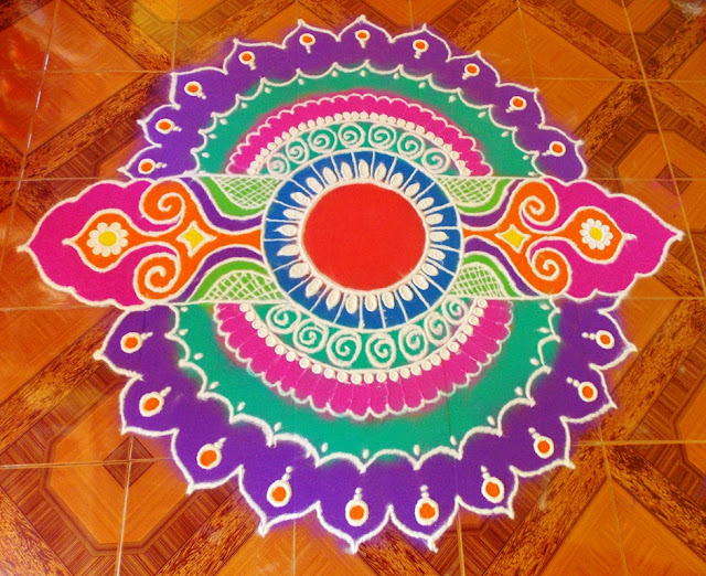 Rangoli Design For Diwali :