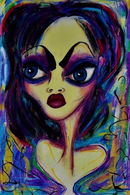 Bebee Pino painting 'Untitled'