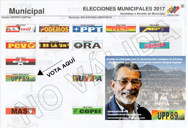 Manuel Isidro Molina: 11/23/17