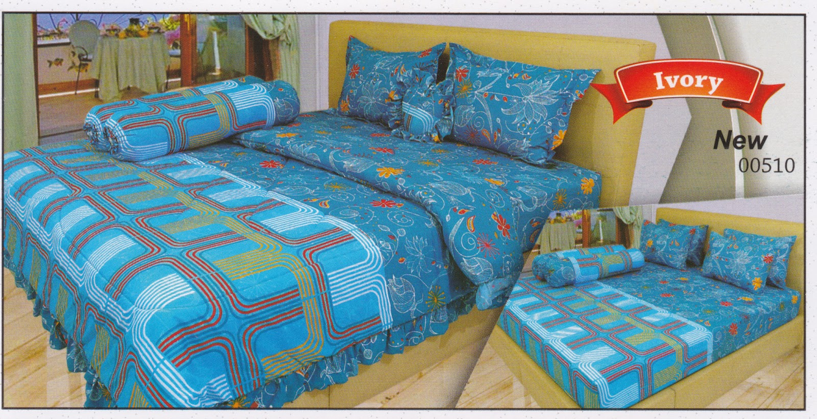 Sprei Lady Rose