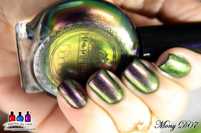 P.O.P. Polish, POP Polish, Multichrome, oil slick collection, Oil Slick 360 Collection, Slickest of Them All, SimoneD07, MonyD07 2018,