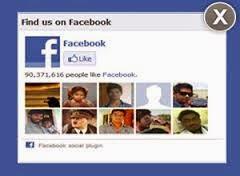 Menggunakan Fanspage Facebook di Blog