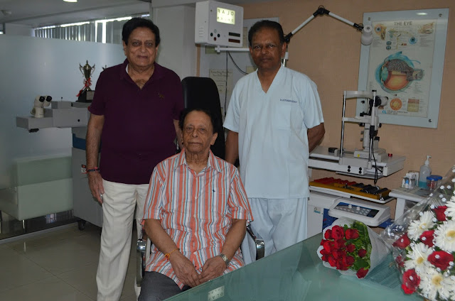 Prime Minister of Mauritius, Sri Anerood Jugnauth gets treated at Maxivision Super Specialty Eye Hospital