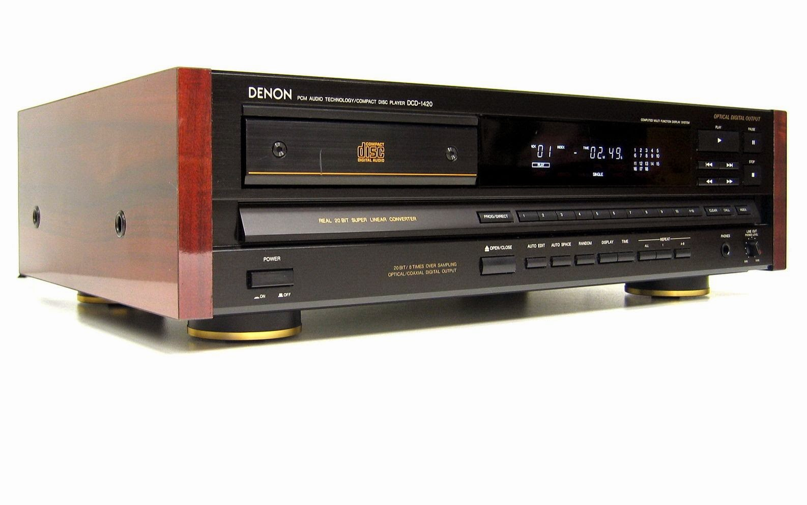 Denon Dcd 1420 Cd Player Audiobaza