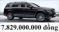 Giá xe Mercedes GLS 500 4MATIC 2020