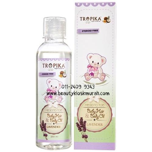 Baby Hair & Body Oil Lavender 250ml