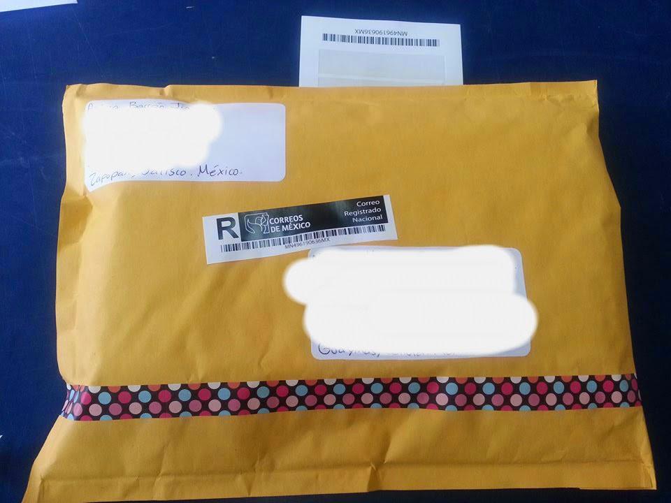 Mi paquete en la Oficina de Correos