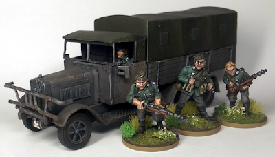 Black Tree Designs Painted Germans Blitzkrieg