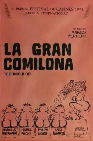 Poster La Grande bouffe 1973