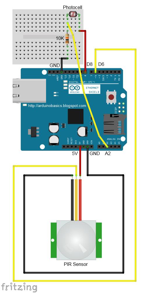 Arduino Basics: Arduino based Security Project Using Cayenne