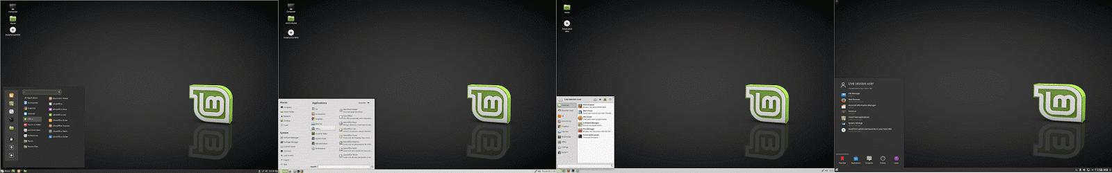 Linux Mint - Edições do Linux Mint