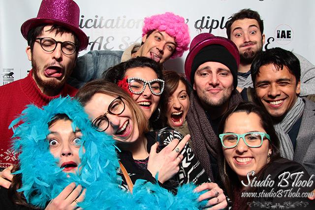 Photobooth à Saint-etienne remise des diplômes