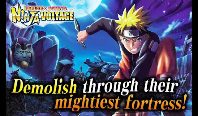 Naruto x Boruto: Ninja Voltage finally released worldwide