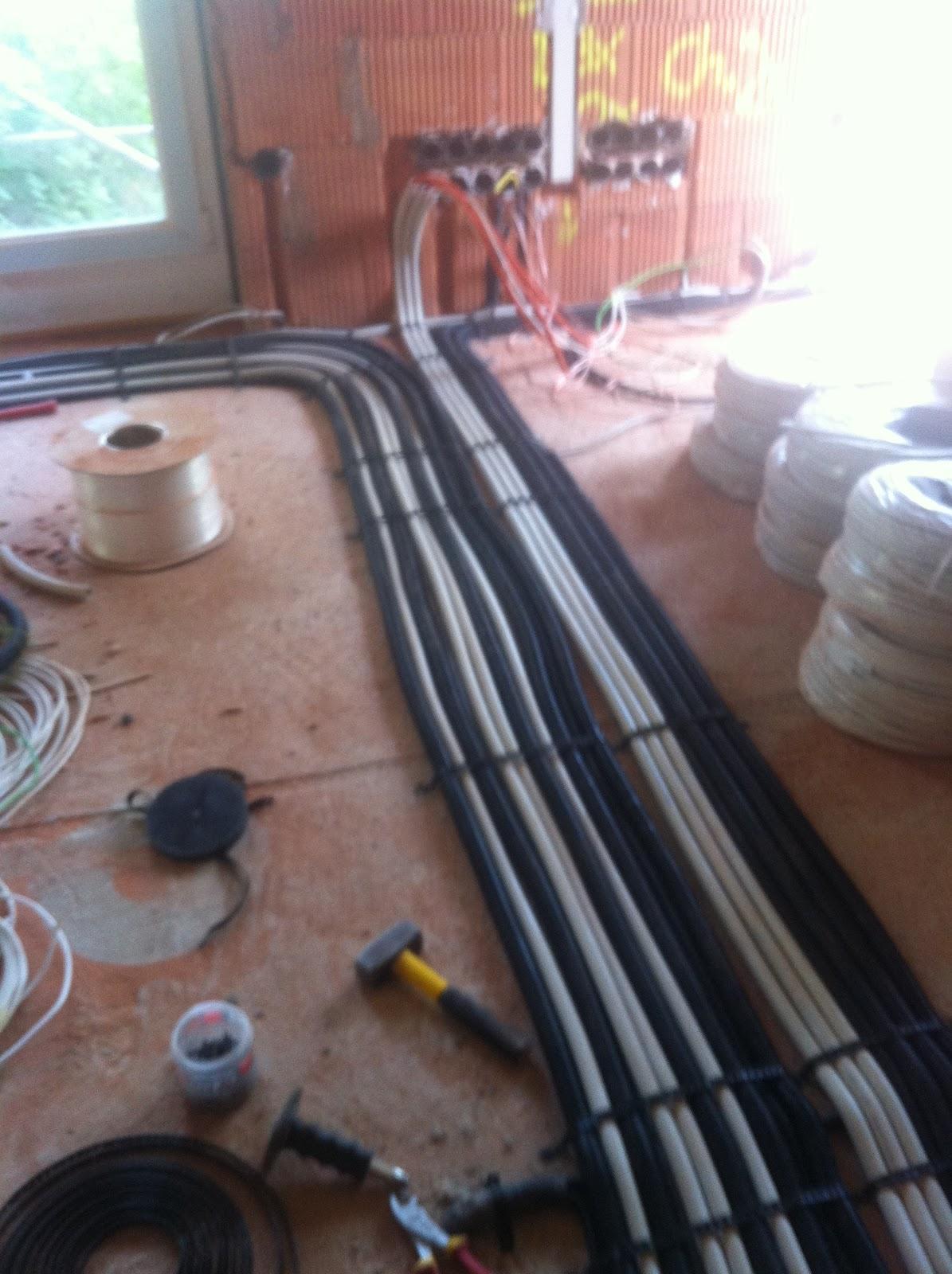 Kabel Leerrohr Heimnetzwerk Serie 2 Die Umsetzung Hausbau Blog Nur