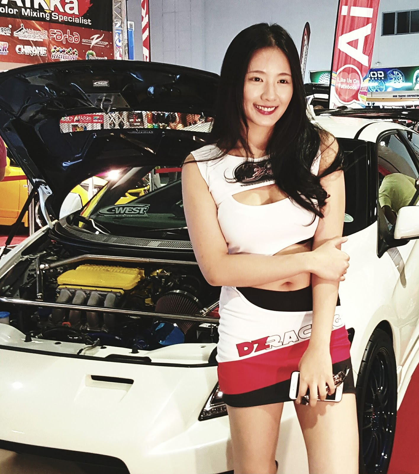 Car And Girl 05