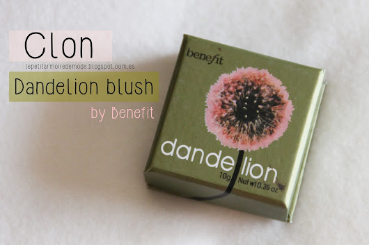 Clon Dandelion blush by Benefit