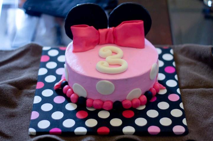 I Created This Cake For My Daughter Sydney Her 3rd Birthday Wanted To Do Something Quick And Simple Since Most 3 Yr Olds Dont Care What Their