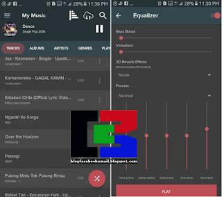 aplikasi pemutar musik offline pi music player terbaru