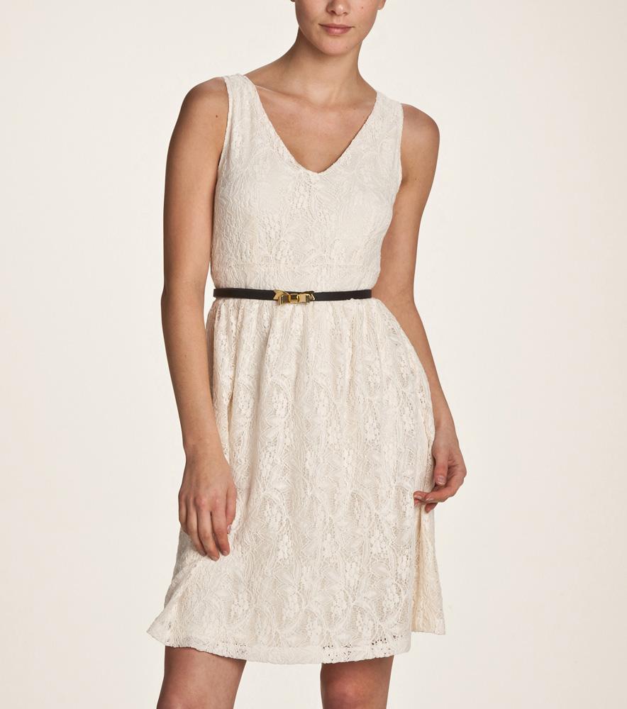 Vestidos color blanco casual