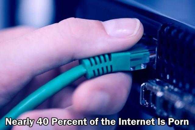 40% konten internet semua berisi porno