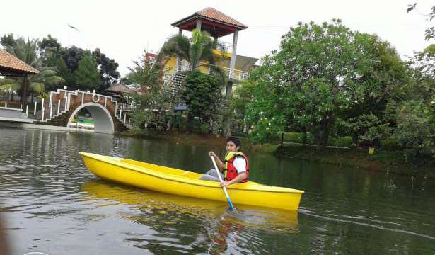 kano sungai perahu air alam rekreasi olahraga