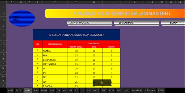 Download Aplikasi Olah Nilai Siswa