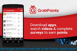 How to get money from the Grab Points Application