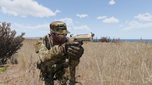 Arma 3のM9拳銃MOD