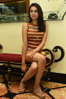 Actress Nikhita in Spicy Small Sleeveless Dress ~  Exclusive 009.JPG