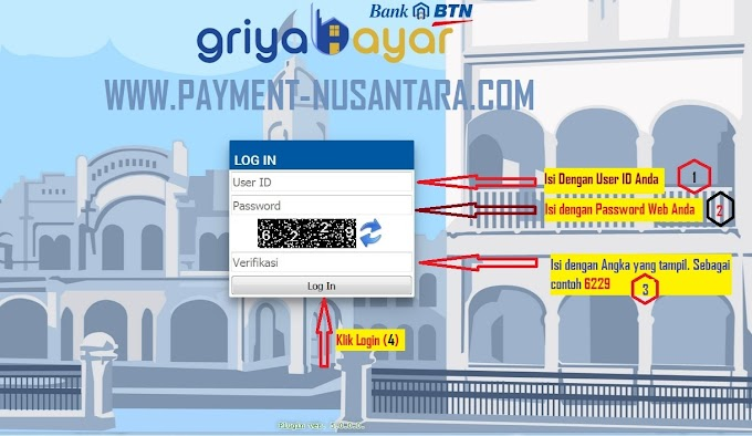 Cara Login Griya Bayar di Laptop / PC / Komputer