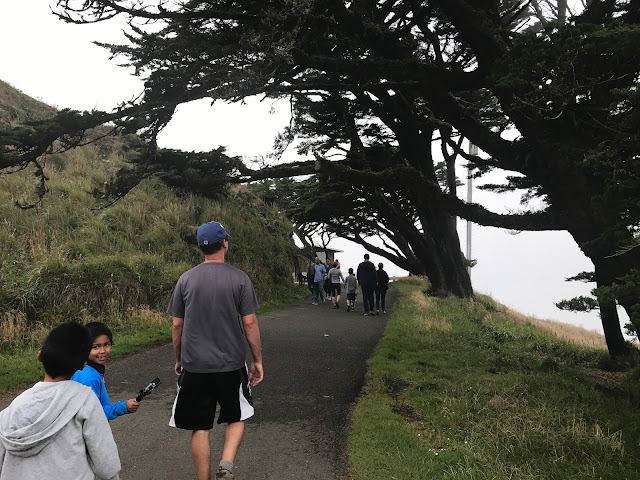 Hiking to the Point Reyes Lighthouse