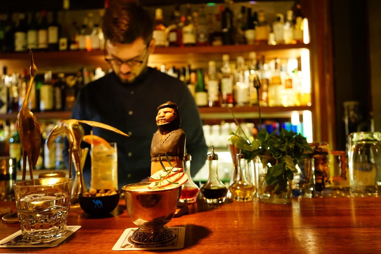 Le Chameau Bleu  - Blog Voyage Gand Belgique - Bar du Jiggers Bar à Cocktail Gand Belgique Ghent Gent